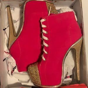 Barbie platform boots